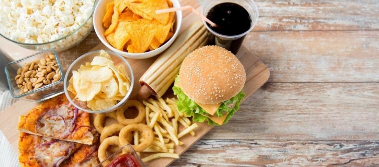 Vliv nezdravých jídel na erekci
