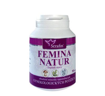 Adiel Serafin Femina Natur přírodní léky hormonální rovnováha