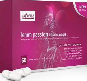Femm Passion tabletky na zvýšení libida přírodní afrodiziaka