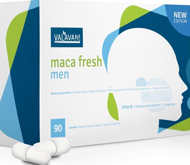 Maca fresh men tabletky na podporu libida pro muže