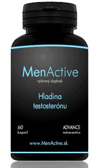 Menactive tabletky na podporu testosteronu