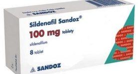 Sildenafil Sandoz léky na zlepšení erekce